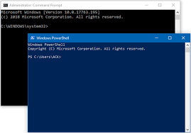 Powershell Windows Difference Between Command Prompt And Windows Powershell
