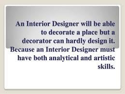 Interior Decorator Vs Interior Designer Custom Interior Design Vs Interior Mesmerizing Interior Design Vs Interior