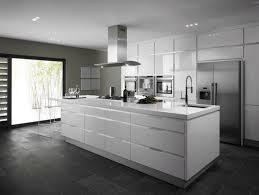 Kitchen White Contemporary Kitchen White Kitchen And Decor