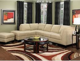 Living Room Sectionals With Chaise Living Room Furniture Oakdale 3 Piece Microsuede Sectional W