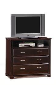 xiorex furniture tv stand juniper dark chocolate w tv by night and day