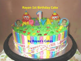 Baby Boy First Birthday Cake My First Birthday Cake For My Ba Boy