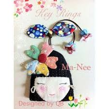 678 best Cute key rings images on Pinterest | Key fobs, Keychains ... & Key Ring (Manee) - Kits & Fabric Adamdwight.com