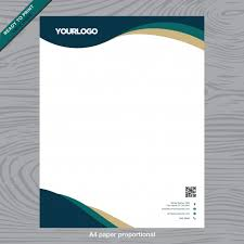 Business Paper Business White Paper With Logo Vector Free Download