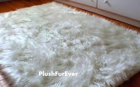 faux sheepskin rug luxury prefeial fake fur rugs accent 8x10 grey fa faux sheepskin rug