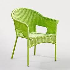 lime green patio furniture. Chair Design Ideas, Green Patio Chairs Lime Stained Woven Rattan Armchair With Four Legs Furniture E
