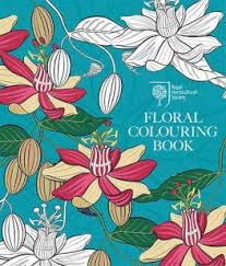 Rhs Colour Chart Amazon Rhs Floral Colouring Book Review Coloring Queen