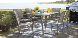 outdoor furniture set lowes. Outdoor Table Set With 6 Chairs For $205 At Lowe\u0027s Home Improvement Furniture Lowes N