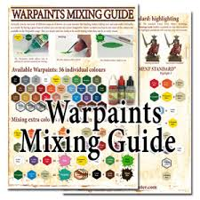 The Army Painter Has Pdf Paint Mixing Guide Online