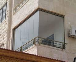 زجاج سيكوريت قابل للطي   نظام واجهة زجاج فلل منازل مطاعم بلكونات