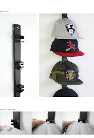 A user can simply fold a hat in half and slide its button into one of the  slots to store and display. There are a number of people who collect hats,  ...