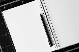 free images desk notebook table book pencil black and white wood pen notepad line e office empty business paper page note education
