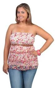 plus size tube tops junior plus size clothing new arrivals debshops com my style