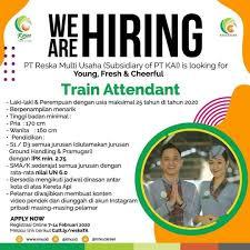 Pt mnc investama tbk butuh rujukan (idx: Lowongan Kerja Train Attendant Juli 2021