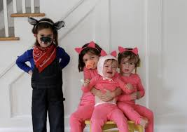 at first our big bad wolf was so good in character that one of the little piggies really was scared