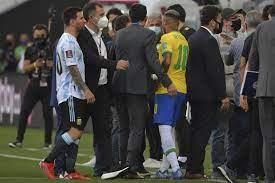 الفيفا يعلق على فضيحة مباراة الأرجنتين والبرازيل - RT Arabic