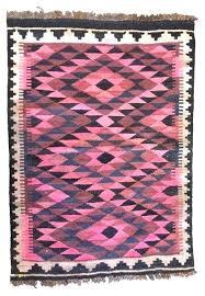 pink kilim rug interior design luxury vintage small or wall hanging eclectic of pink kilim rug