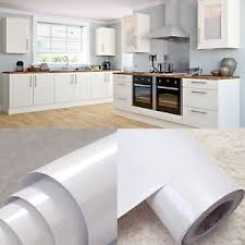 covering furniture with contact paper. Image Is Loading Yazi-White-Kitchen-Cupboard-Cover-Self-Adhesive-Vinyl- Covering Furniture With Contact Paper