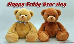 happy national teddy bear day