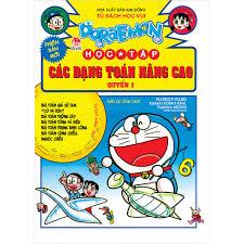 Truyện tranh Doraemon học tập: Các dạng toán nâng cao quyển 1