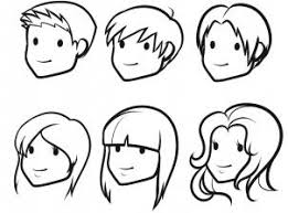 Small Picture How to draw how to draw hair for kids Hellokidscom