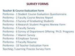 19 Awesome Course Evaluation Form | Sahilgupta.me