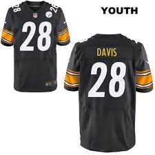 Stitched Black Pittsburgh Sean Davis Elite Jersey Football 28 Youth Steelers Nike No Home fdfeabeddbc|In Monday Night NFL Soccer On ESPN