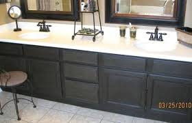 bathroom cabinet refacing before and after. Bathroom Cabinet Medium Size Resurface Cabinets Refinish Ideas Refinishing Refacing . Before And After