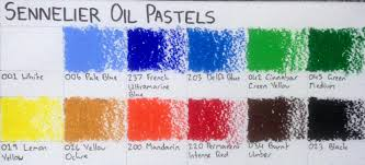 Oil Pastels Sennelier Oil Pastels Review Artdragon86