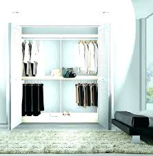 s double hanging closet rod dimensions