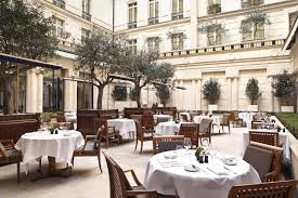 Hotel De La Paix Montparnasse Paris 2e Park Hyatt Paris Vendame Restaurant Pur Courtyard