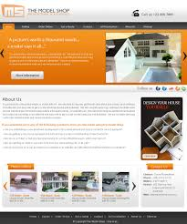 Web Page Design Models Modern Playful Shop Web Design For A Company By Webxvision