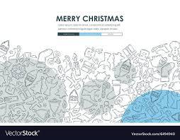 Free Christmas Website Templates Christmas Doodle Website Template Design