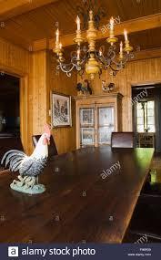 Esstisch Und Stühle Im Speisesaal Innerhalb Eines 1920er Jahre