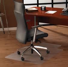rectangle cream fiber large office chair mat for wood