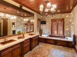 wall sconce candle holders bathroom traditional with double sink vanity wood paneled ceiling crown molding
