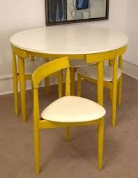 Chair Space Saving Dining Table ...