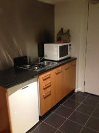 stove top microwave. Unique Microwave Punthill Little Bourke Kitchenette  2 Burner Stove Top Microwave And Bar  Fridge Intended Stove Top Microwave