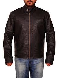 common john wick 2 crocodile leather jacket
