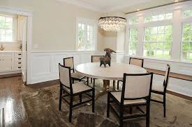 image of wainscoting dining room decoration