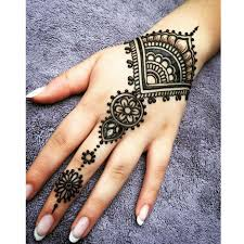 White Henna Designs On Dark Skin Us 0 79 Black Brown Red White Henna Cones Indian Henna Tattoo Paste For Temporary Tattoo Body Art Sticker Mehndi Body Paint In Body Paint From