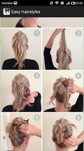 Hairstyle Easy Step By Step easy hairstylesstep by step android apps on google play 8910 by stevesalt.us