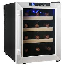 Cabinet With Wine Cooler Akdy 12 Bottle Single Zone Wine Refrigerator Reviews Wayfair