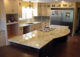 Granite For Kitchen Granite For Kitchen Kitchen With Brown Cabinets And Light Color