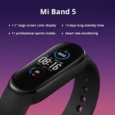 <b>Original Xiaomi Mi Band</b> 5 Smart Armband 1.1 AMOLED Bunte ...