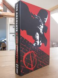 my absolute collection v for vendetta absolute edition it contains the collected 10 issues of v for vendetta printed on mat thick white quality