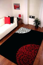 red and black area rugs red living room rug wallpapers black red fl area rugs