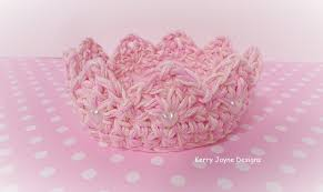 Crochet Crown Pattern Fascinating Crochet Crown Pattern UK Kerry Jayne Designs