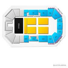 Ralston Arena 2019 Seating Chart