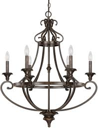 save on lighting. Save On Capital Lighting Maxwell 6-Light Chandelier Chesterfield Brown 4536CB000 - LampsUSA